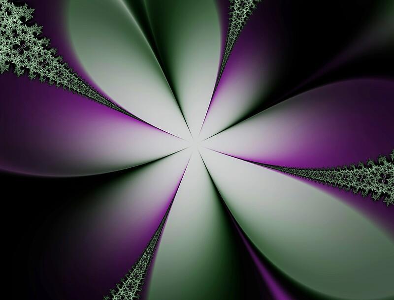 Flores de primavera púrpura y verde - Green & Spring - Polyvore