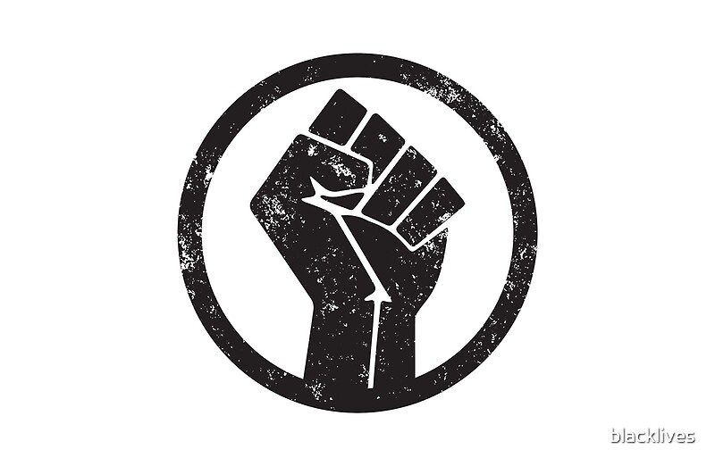 Quot Black Power Raised Fist Quot Laptop Skins By Blacklives