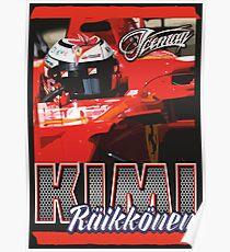 Kimi Raikkonen | F1 Poster