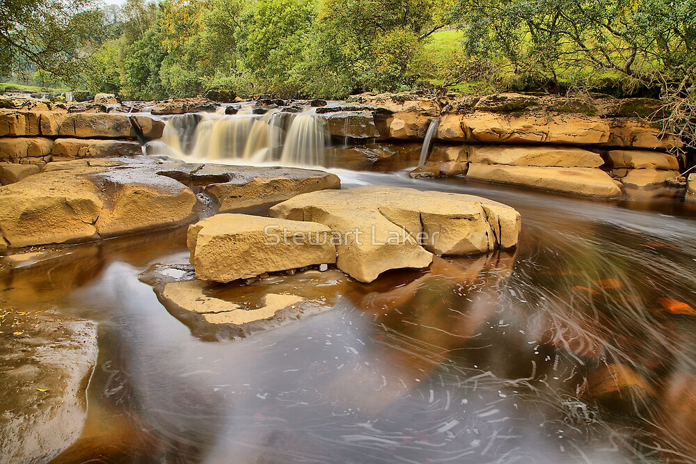 The River Swale by Stewart Laker