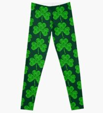 Skull & Crossbones Shamrock Leggings