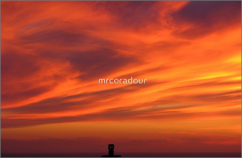 A Cornish Sunset by Malcolm Chant