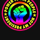 Rainbow Power to the People - Not my President by Thelittlelord