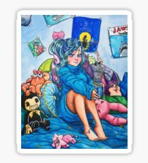 Zoe's Chill Spot Sticker