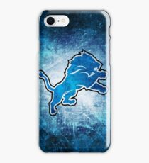 Detroit Lions CUSTOM Print iPhone Case/Skin