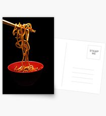 Chinese Noodles  Postcards