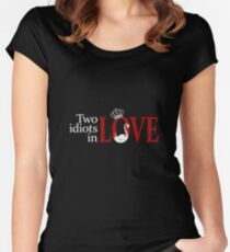 Swan Queen - Two idiots in love Women's Fitted Scoop T-Shirt