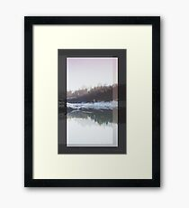 DAY 10 // 101817 (arms too short) Framed Print