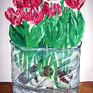 """""""Tulips In Bloom"""" by Adela Camille Sutton"""