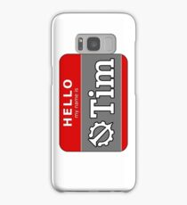 Hello My Name is Tim | Hello Internet Samsung Galaxy Case/Skin