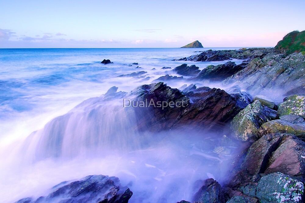 Blue cascade by DualAspect