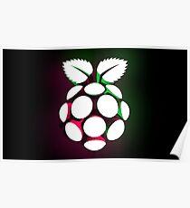 Raspbian logo Poster