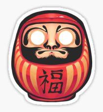 Daruma Doll Sticker