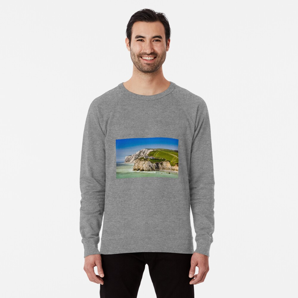Fort Redoubt Freshwater Bay Isle Of Wight Lightweight Sweatshirt