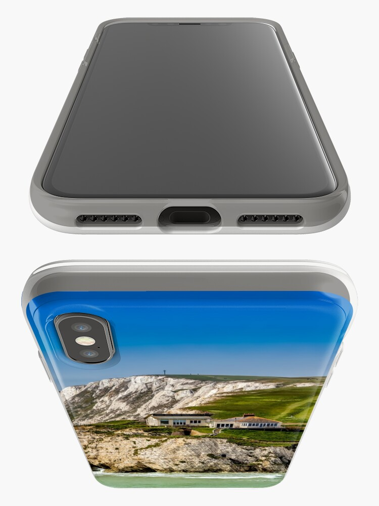 Alternate view of Fort Redoubt Freshwater Bay Isle Of Wight iPhone Case & Cover