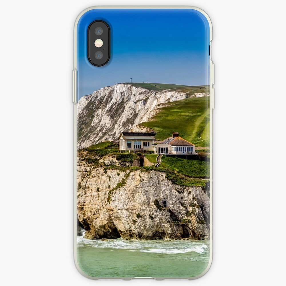 Fort Redoubt Freshwater Bay Isle Of Wight iPhone Case & Cover