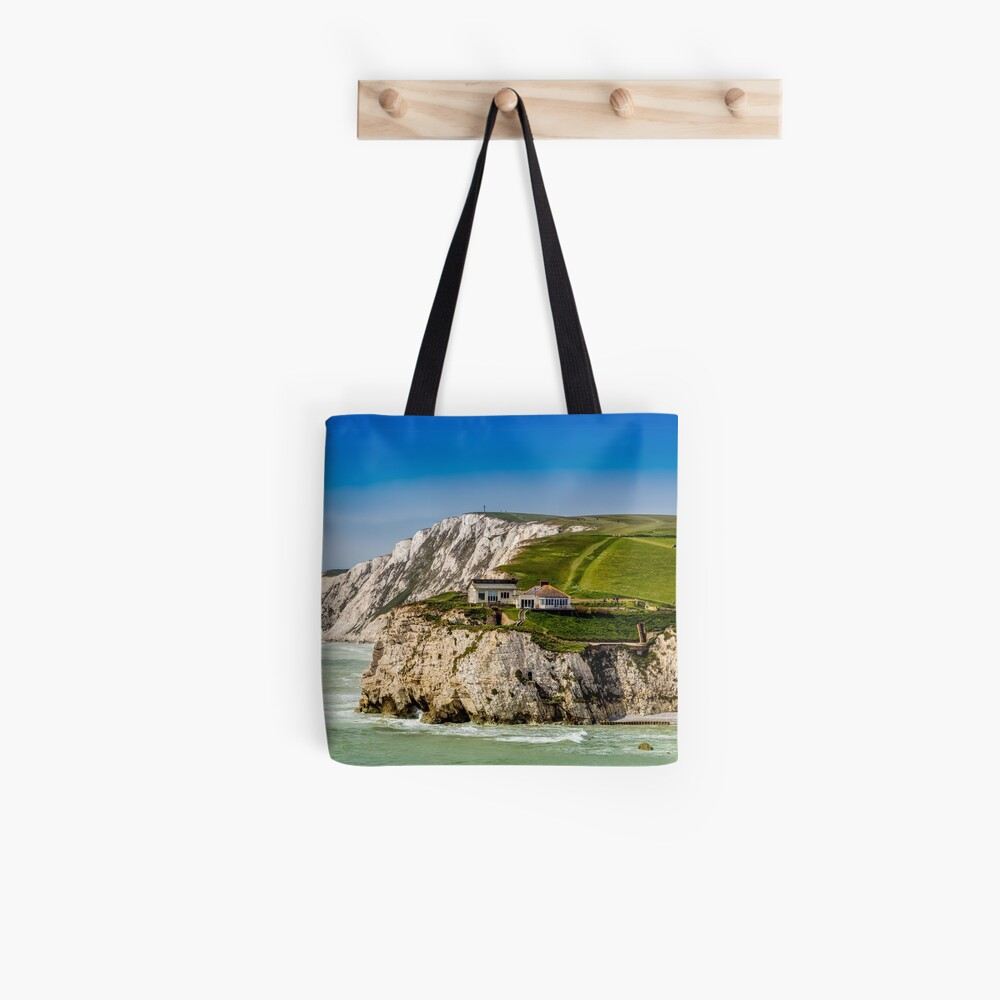 Fort Redoubt Freshwater Bay Isle Of Wight Tote Bag