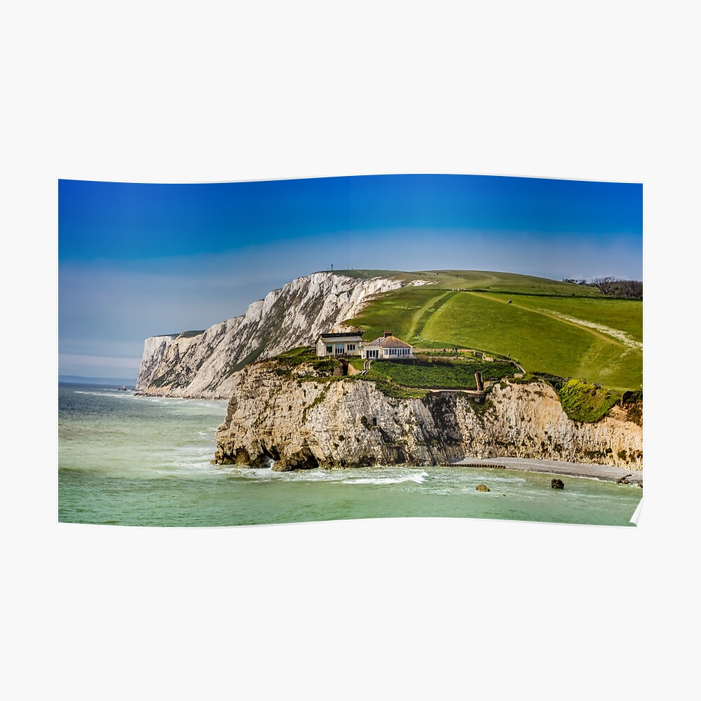Fort Redoubt Freshwater Bay Isle Of Wight Poster