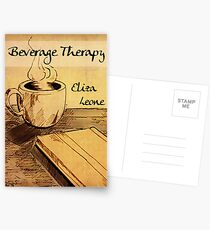 Beverage Therapy Postcards