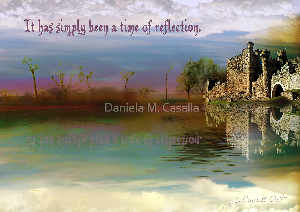 Time of Reflection by Daniela M. Casalla