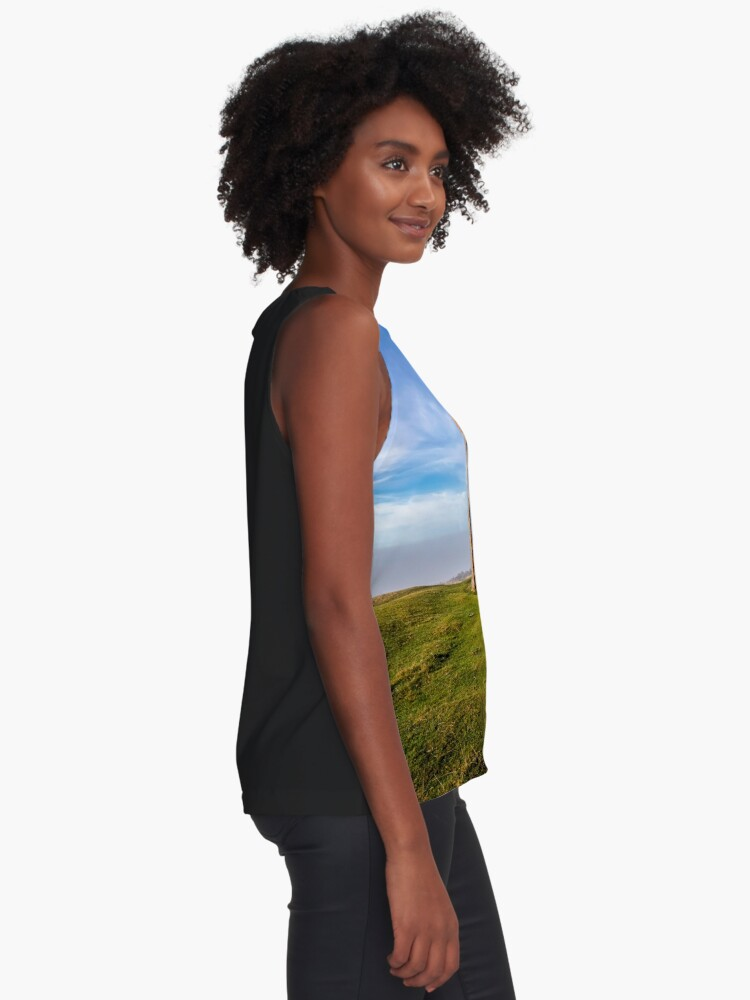 Alternate view of St Catherines Oratory The Pepperpot Sleeveless Top