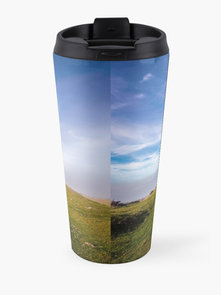 Alternate view of St Catherines Oratory The Pepperpot Travel Mug