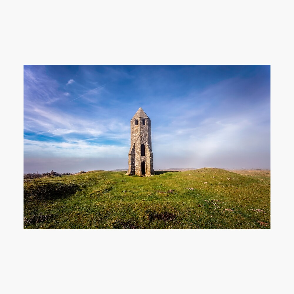 St Catherines Oratory The Pepperpot Photographic Print