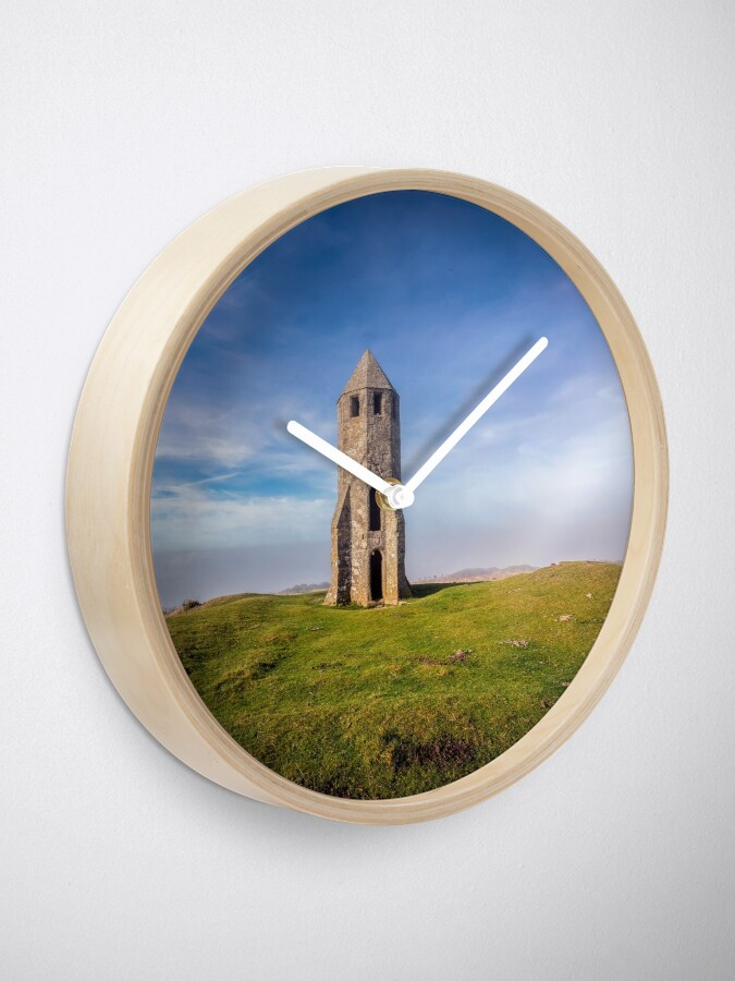 Alternate view of St Catherines Oratory The Pepperpot Clock