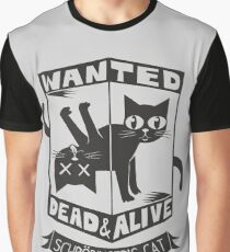 The Flash (Cisco's shirt) - Wanted Dead and Alive (Scrödinger's Cat) Graphic T-Shirt