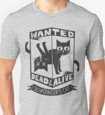 The Flash (Cisco's shirt) - Wanted Dead and Alive (Scrödinger's Cat) Unisex T-Shirt