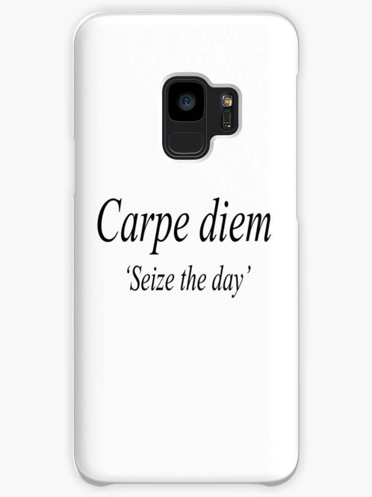 seize the day poem carpe diem