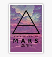 30 Sec To Mars Logo Sticker