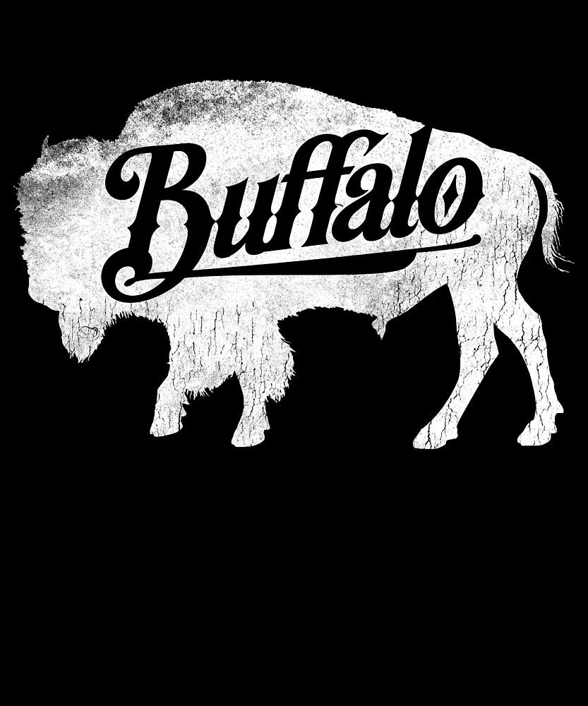 Bison Silhouette , Love Cute Buffalo by roarr