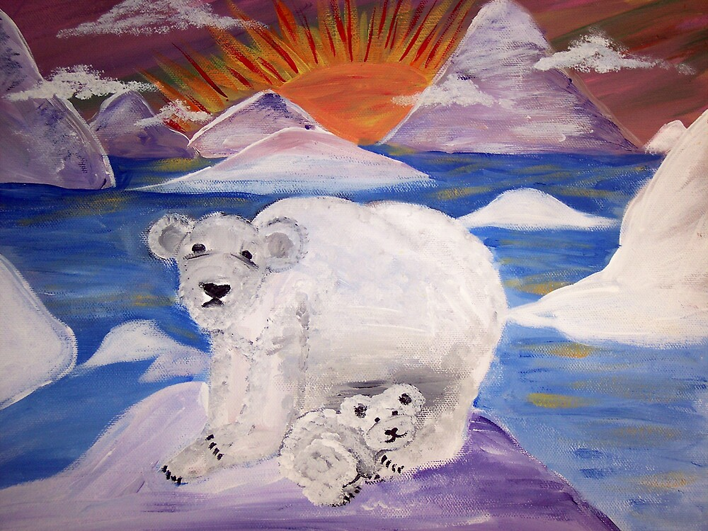 The Polar Bears by sweetiepeachess