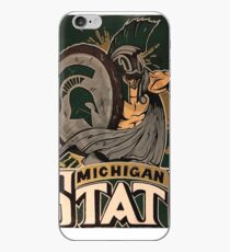 MICHIGAN STATE HAND-RENDERED ART iPhone Case