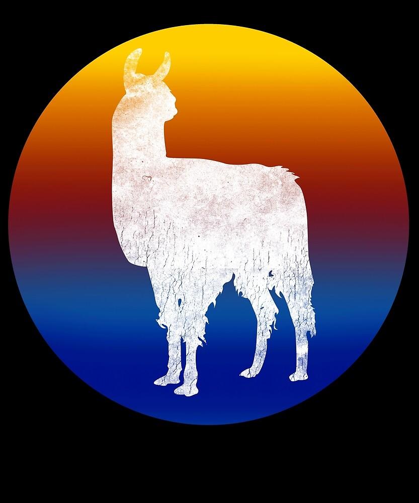 Love Cute Llama, Wildlife Spirit Animal by roarr
