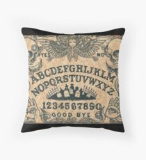 Angel of Death Ouija Board Throw Pillow