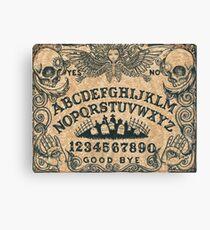 Angel of Death Ouija Board Canvas Print