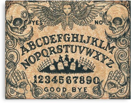 Angel of Death Ouija Board by ShayneoftheDead