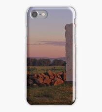 Sunrise on Cemetery Ridge iPhone Case/Skin