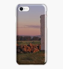Sunrise on Cemetery Ridge iPhone Case/Skin