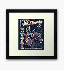Mr. Herman Framed Print