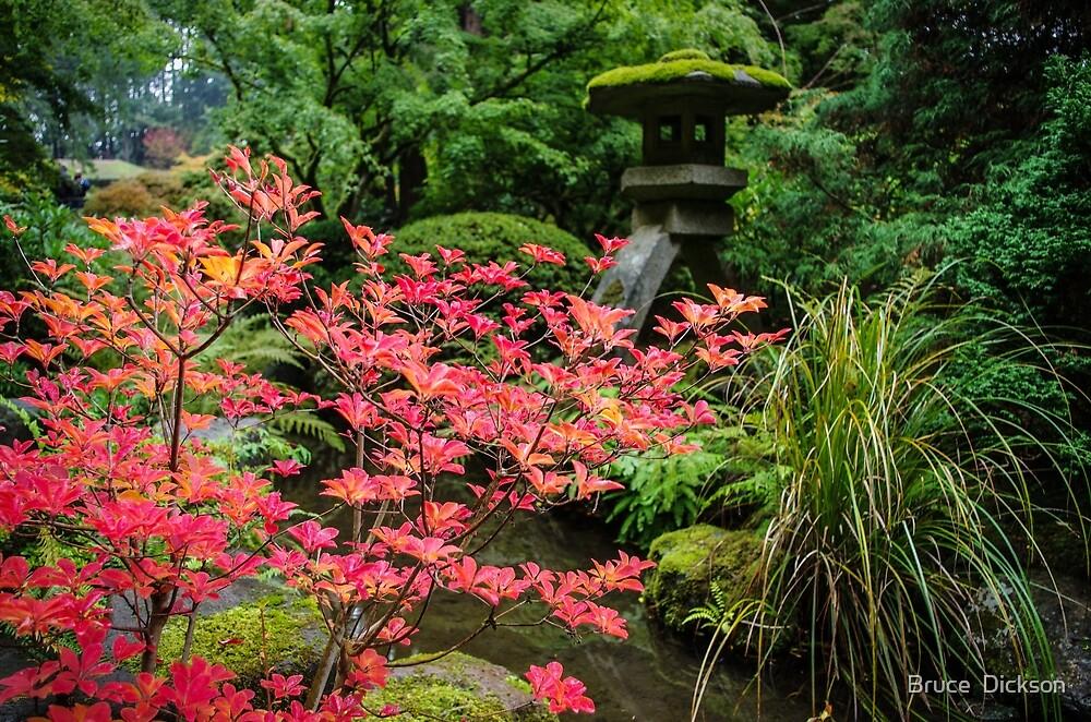japanese garden 4 by Bruce  Dickson