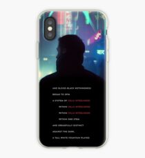 Baseline Test Blade Runner 2049 iPhone Case