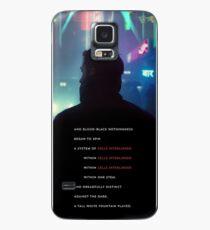 Funda/vinilo para Samsung Galaxy Línea de referencia Blade Runner 2049