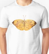 Apricot Sulfur Butterfly Unisex T-Shirt
