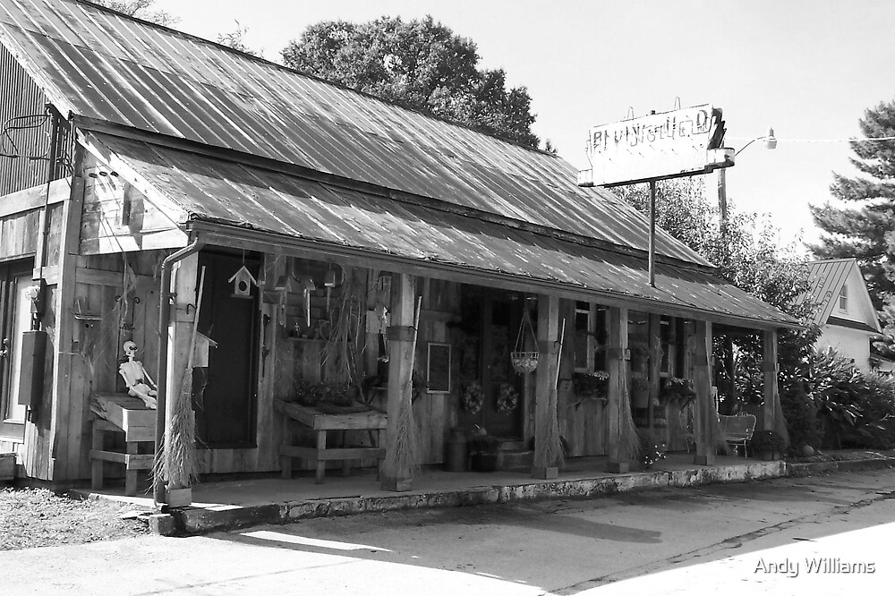 Typical old style American General Stores early 1900's by Andy Williams