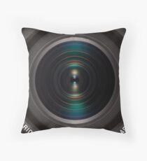 Lens One Throw Pillow