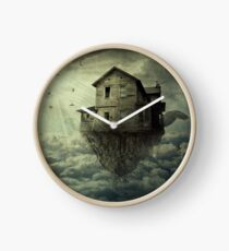 My Flying House Clock
