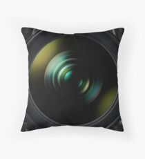 Lens Two Throw Pillow